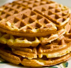 Waffle Simples