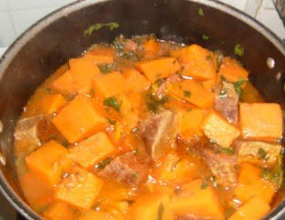 Imagem - Abóbora com Carne Seca