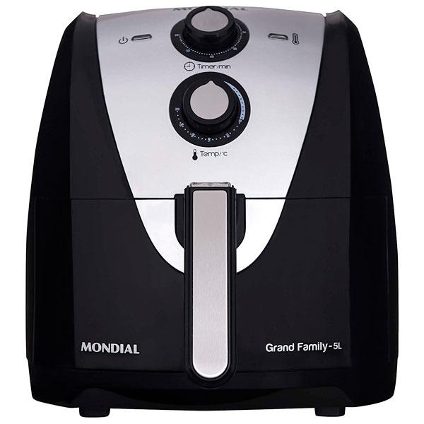 Mondial Fritadeira Elétrica Sem óleo Grand Family AF-17 5 Litros